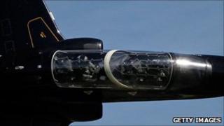 RAF Hawk jet