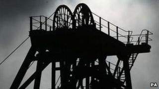 Former coal mine