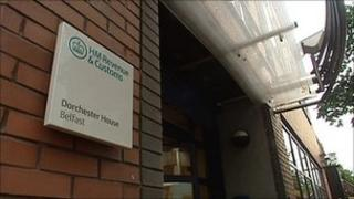 The staff worked at the HMRC contact centre in Dorchester House