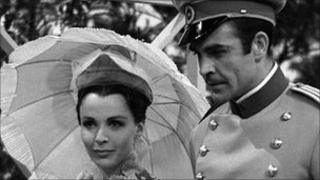 Claire Bloom and Sean Connery in Anna Karenina