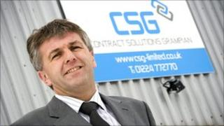 Calum Johnston of Contract Solutions Grampian