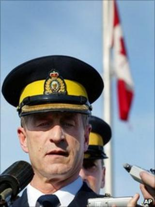Royal Canadian Mounted Police Chief Superintendent Marty Cheliak