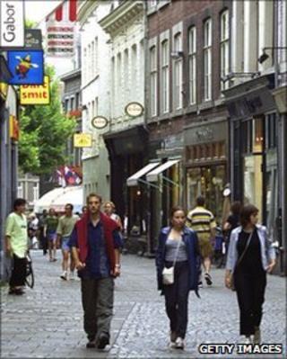 Maastricht street scene