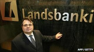 Former Landsbanki CEO Sigurjon Arnason pictured in 2007