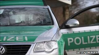 German police car (file photo)