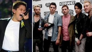 Pontypridd chart toppers Lostprophets and Swansea singing sensation Shaheen Jafargholi