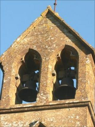 The Angelus bells are broadcast twice a day in Ireland
