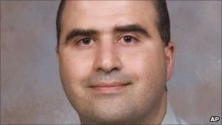 Maj Nidal Hasan - 2007 file photo