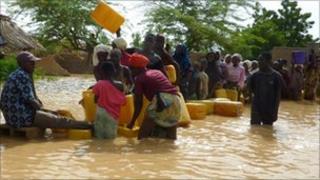 Flooding in Niamey, Niger