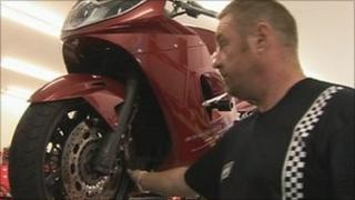 Motorcycle safety check