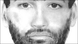 Drawing of man hit by train in Coventry on 30 October 1993