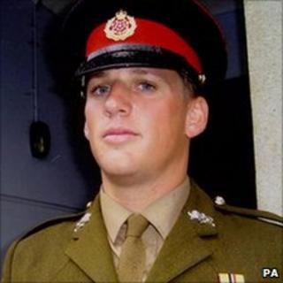 Lance Corporal Jordan Bancroft