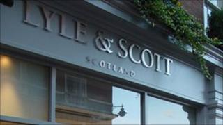 Lyle & Scott Covent Garden store