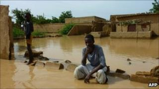 Parts of the capital, Niamey, are among areas hit. August 6, 2010