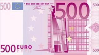 500 euro note