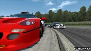 Image from Eutechnyx's game Supercar Challenge