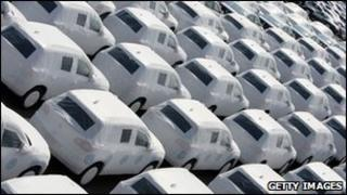 VW cars ready for delivery