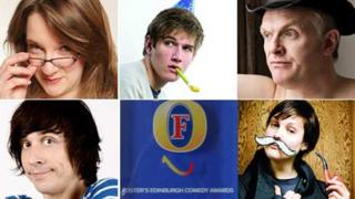Edinburgh comedy awards nominees