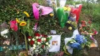 Tributes at Haut Croix