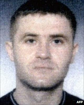 Interpol image of Sretko Kalinic, taken in 2003