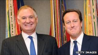 William Lynn and David Cameron