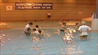 Hambleton Leisure Centre pool