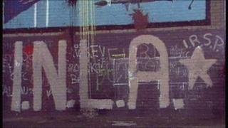 INLA graffiti