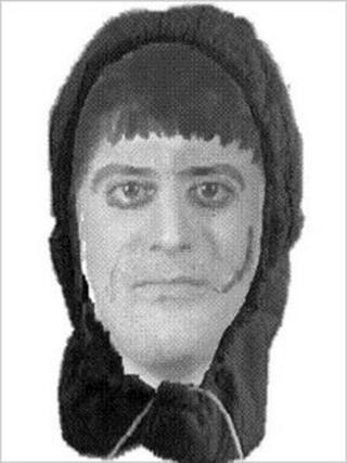 An e-fit of the alleged offender