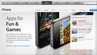 App store screenshot (iTunes)