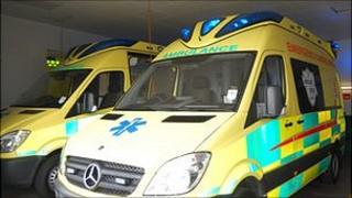 Guernsey Ambulance and Rescue Service vehicles
