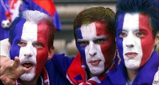 France football fans
