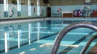 Waterlane swimming pool