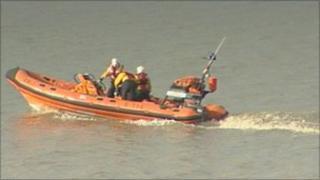 Weston lifeboat
