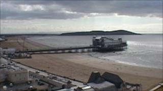 Weston-super-Mare seafront