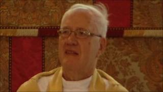Former Archbishop of Canterbury George Carey