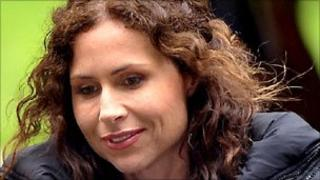 Minnie Driver in Swansea Photo: Wales News