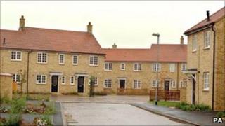 New housing development in Cambridgeshire