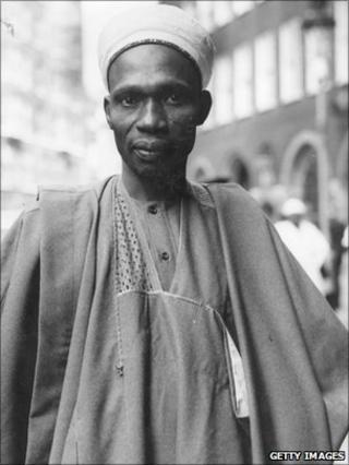 Tafawa Balewa pictured in 1959