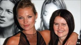 Kate Moss and Corinne Day