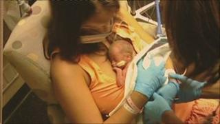 Baby Connie Maria Burton