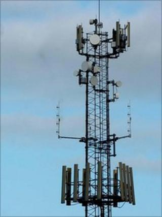 A mobile phone mast (generic)