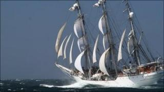 Christian Radich Tall Ship