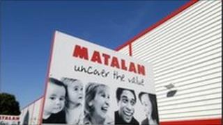 Matalan sign