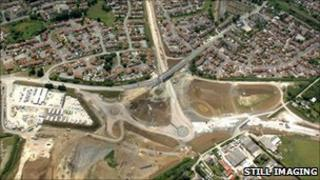 Jurassic and Bincombe Bump roundabouts