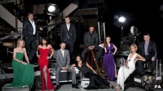Some of the Coronation Street cast