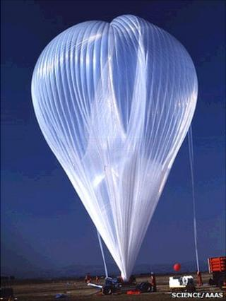 CNES launches a stratospheric balloon (Science/AAAS)