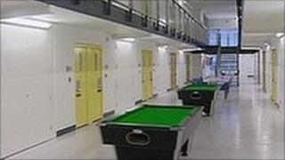 Inside Addiewell Prison