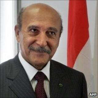 Egypt intelligence chief Omar Suleiman