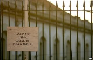 Railings outside the Casa Pia college of Pina Manique in Lisbon (1 September 2010)