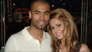 Ashley Cole and Cheryl Cole in 2006